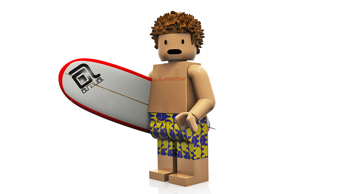AnovaProject-Render3D-character- lego-surf